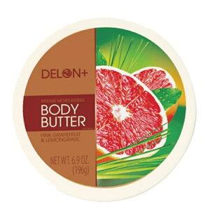 デロンボディーバター (DELON BODY BUTTER) 保湿/ピンクグレープフルーツレモン《郵送400円可能》コスメ 化粧品 紫外線 UVカット 人気 ランキング おすすめ 順番 方法 プレゼント