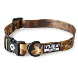 ウルフギャング(WOLF GANG MAN & BEAST)犬用首輪ペットDOG COLLAR/DuckBlind-L