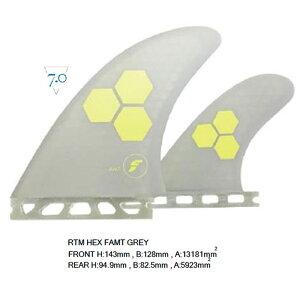 """フューチャーズフィンシステム(FUTURES FINS)ヘキサライトAMTアルメリックパフォーマンスグラス3本セットスタビRTM HEX FAMT/GREY""""フィンサーフィン 選び方 サーフィン グローブ ブーツ デッキパッ"""