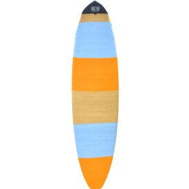 """""""オーシャンアンドアース(OCEAN&EARTH) 7'0""""(213cm) ファンボード用ニットケースストレッチカバー KNIT CASE STRETCH COVER FUNBOARD/オレンジソリッドストライプOrangeSolidStripe""""ボードケース"""