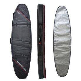 """オーシャンアンドアース(OCEAN&EARTH)7'0""""(213cm)ハードケースダブルコフィンショートボード1~2本用HARD CASE DOUBLE COFFIN SHORT 7'0""""SHORTBOARD COVER/BlackRed""""SURFBOARD サーフボード"""