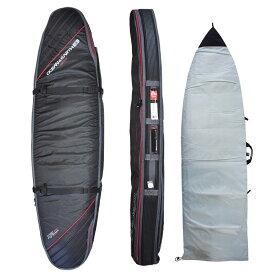 """オーシャンアンドアース(OCEAN&EARTH)6'6""""(198cm)ハードケーストリプルコフィンショートボード1~3本用HARD CASE TRIPLE COFFIN SHORT 6'6""""SHORTBOARD COVER/BlackRed""""SURFBOARD サーフボード"""