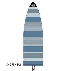 """オーシャンアンドアース (OCEAN&EARTH) 5'8""""(173cm) ファンボード用 ニットケース ストレッチカバー KNIT CASE STRETCH COVER FANBOARD/Denim 郵送指定で送料380円−代引決済不可 サーフボードサーフィンロング"""
