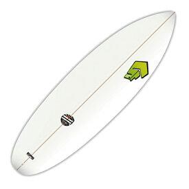 """""""BIC SPORTS SURF(ビックスポートサーフボード)6'0""""(183cm)スーパーフロッグシックスキャロットケーキレトロミニボードファンボードSUPER-FROG 6'0"""" Carrot Cake SF""""《沖縄本島含む離島除く送料無料》FunBoard"""
