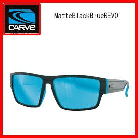 """送料無料""""カーブ(CARVE)メンズサブライムサングラスSublime Matte Blk・Blue REVOマットブラックブルーミラー""""郵送指定で送料無料−代引決済不可 サングラスアイウェア専門のレイバンオークリー度付き"""