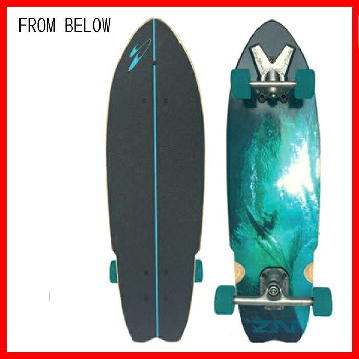 """サーフスケート(SurfSkate)Zak Noyle SANDY 33inch(84cm)ザックノエルサンデーサーフトラッククルーザー""""サーフ サーフィン サーファー SURFIN SURF SURFER 便利スケートボード SKATEBOARD/Pennyペニー"""