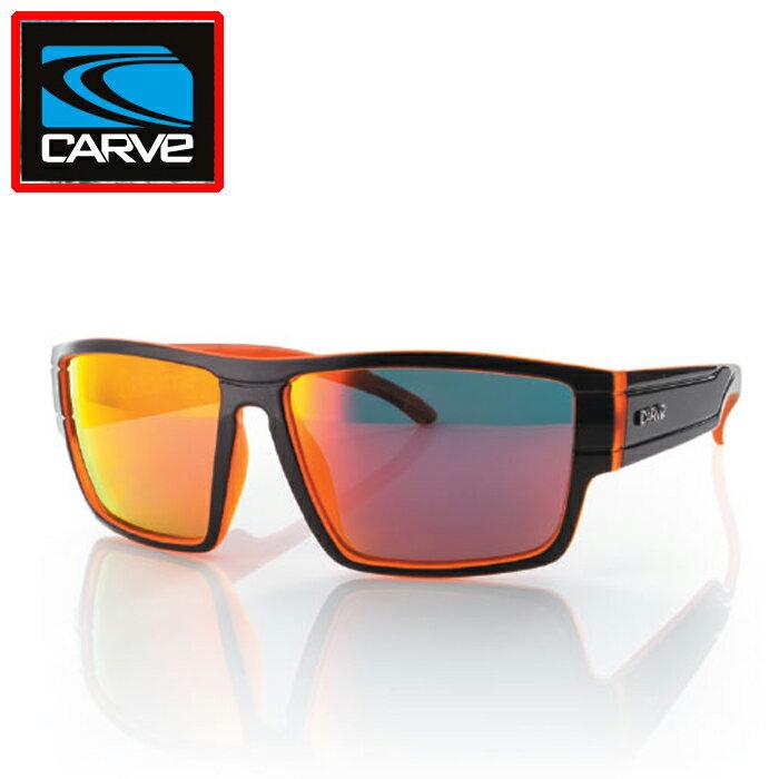 """送料無料""""カーブ(CARVE)メンズサブライムサングラスSublime Mattblk Orange REVO POLARIZEDマットブラックオレンジミラー偏光""""郵送指定で送料無料−代引決済不可 サングラスアイウェア専門のレイバンオークリー度付き"""