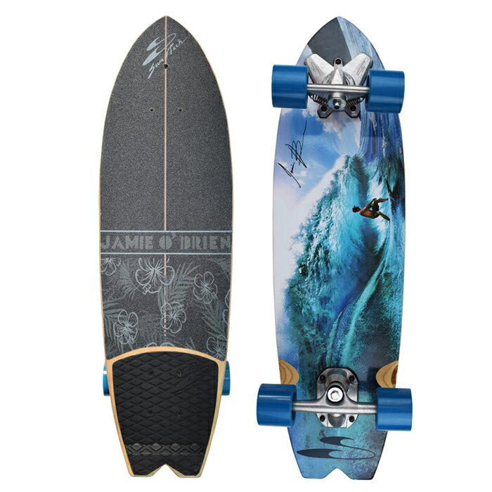 """""""サーフスケート(SURF SKATE)34""""(86.3cm)ジェイミーオブライエントロピックサーフトラッククルーザーJOB TROPIC SKATEBOARD""""送料無料/Pennyペニー"""