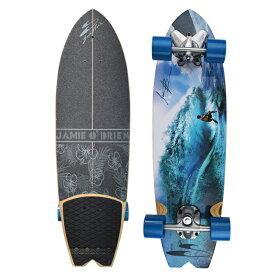 """""""サーフスケート(SURF SKATE)34""""(86.3cm)ジェイミーオブライエントロピックサーフトラッククルーザーJOB TROPIC SKATEBOARD""""送料無料/Pennyペニー ジェーミー"""