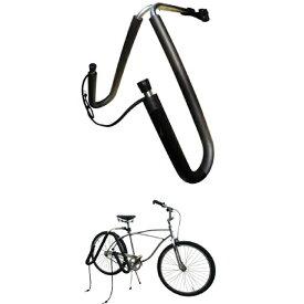 """イージー 自転車用サーフボードキャリアセット (CAPキャップ) EZ BICYCLE SIRFIN SURFBOARD CARRIER/自転車シートポスト25mmから32mmに対応""""送料無料《サーフボード運搬に!海辺在住必需品に鍵(別売)がつきました》"""