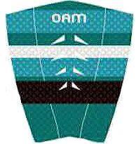 """""""オンアミッション オーエーエム(OAM on a mission) MICHEL BOUREZ マイケルボレーズ/ティールTEAL""""/サーフ サーフィン サーファー SURFIN SURF SURFER 便利/デッキパッド デッキパッチ DECK PAD DECK PATCH"""