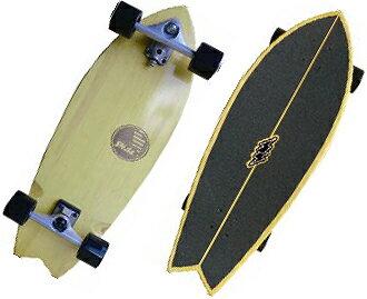 """""""放映裝置衝浪溜冰(SLIDE SURF SKATE BOARD)FISH2魚2 32""""/SKATEBOARD滑板/衝浪衝浪衝浪運動員SURFIN SURF SURFER便利"""