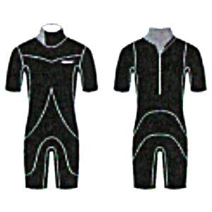 ビーウェット(BE WET) RICHRUVA 3*2mm オーダーショートスリーブスプリングウェットスーツ半袖短丈パンツ FULLSUITS WETSUITS ORDER ウエットスーツ 種類 オーダー おすすめ カスタム ブランド APEX 季節