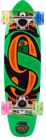 """""""【セクターナイン】 (SECTOR9) ミニクル−ザ−グローウイールシリ−ズ GLOW WHEEL SERIES THE STEADY COMPLETE【25""""L 6.75""""W】GREEN""""《送料無料》/SKATEBOARD スケートボード/サーフ サーフィン サーファー SURFIN SURF SURFER 便利"""