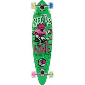 """""""【セクターナイン】 (SECTOR9) GLOW WHEEL SERIES 【THE SWIFT】 コンプリートグローウィールザスウィフト 34.5インチ/GREEN""""《送料無料》/SKATEBOARD スケートボード/サーフ サーフィン サーファー SURFIN SURF SURFER 便利/SURFSKATE サーフスケート"""