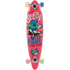 """""""【セクターナイン】 (SECTOR9) GLOW WHEEL SERIES 【THE SWIFT】 コンプリートグローウィールザスウィフト 34.5インチ/PINK""""《送料無料》/SKATEBOARD スケートボード/サーフ サーフィン サーファー SURFIN SURF SURFER 便利/SURFSKATE サーフスケート"""