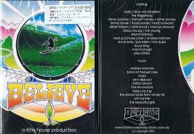 "BELIEVE (ビリーブ)""《郵送250円可能》【人生の目的はサーフィンという純粋なサーファーにスポットを当てた!】サーフ サーフィン サーファー SURFIN SURF SURFER 便利/サーフィン DVD"