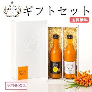 【ギフトBOX入】シーベリージュース (サジー) 360ml 2本セット グアマラル