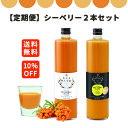 【定期購入】シーベリージュース (サジー) 100%+ゆず お好きな味2点組み合わせセット 720ml グアマラル