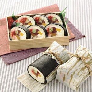 お寿司みたいなロールケーキセット洋菓子 ケーキ スイーツ キャラクタースイーツ そっくりスイーツ 贈り物 ギフト サプライズ プレゼント