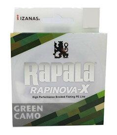 Rapala(ラパラ) PEライン ラピノヴァX カモパターン 100m 2号 32.8lb 4本編み グリーンカモ RLX100M20GC