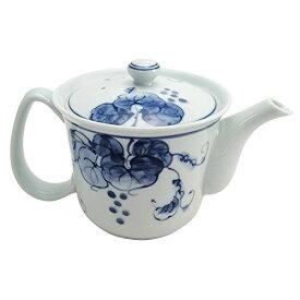 西海陶器 波佐見焼 平成ぶどう 軽量 ポット(茶こし付) 420ml 19917 白