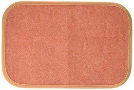 奥特殊紡績 マット ディスメル クリーンワン OK565 オレンジ 30×45(T) cm