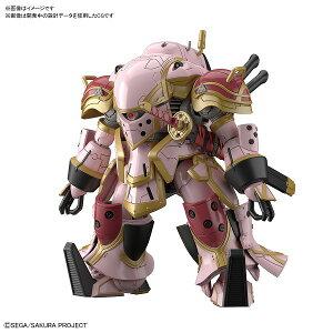 HG 1/24 霊子戦闘機・無限(天宮さくら機) プラモデル〔BANDAI SPIRITS〕(200205予約開始)
