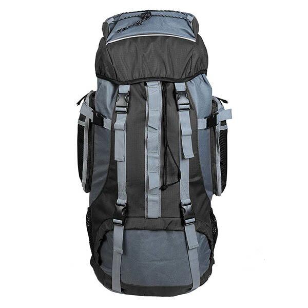 Yescom 登山リュック 70L 大容量 防水 撥水 多機能 アウトドア ハイキング トレッキング キャンプ 旅行 防災 非常用 ブラック