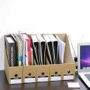 Yescom ファイルボックス A4 縦型 5個セット ダンボール 収納ボックス 整理ボックス 書類 収納 書類ケース 書類整理 …
