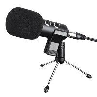 Yescomコンデンサーマイク卓上マイクマイクスタンドスタジオレコーディングUSB接続対応ハット指向性集音高音質録音宅録生放送動画投稿ゲーム実況卓上マイクスタンド付