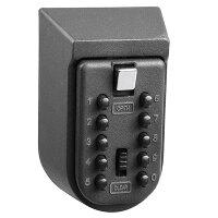 Yescom固定型キー暗証番号ボックス合鍵を入れておけば忘れた際も解錠カギ管理セキュリティキーボックス安全キーボックス