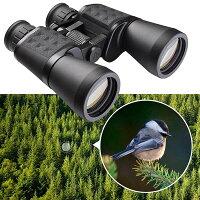 Yescom双眼鏡10x50高倍率防水広視野角10倍50口径広視野角双眼鏡収納ケース付きブラック