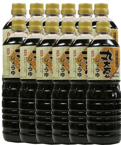 超特選丸大豆醤油1L×12本入