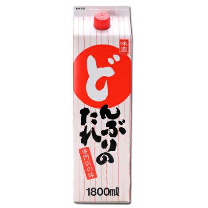どんぶりのたれ1.8L(紙パック入り)