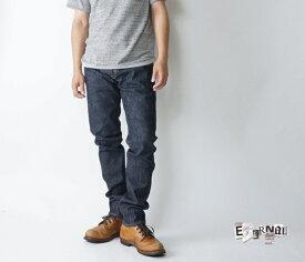 ETERNAL(エターナル) 52290w 岡山児島タイトジーンズ ストレッチタイトテーパード5ポケットジーンズ ワンウォッシュ 岡山児島製 送料無料 メンズデニム 日本製