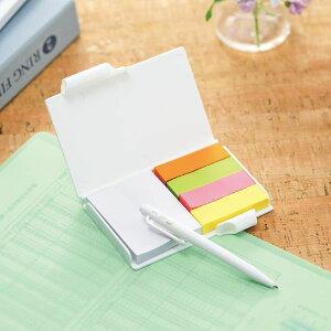 ペン付ふせんセット 10個単位販売  まとめ買い 販促 ばらまき ノベルティ 粗品 記念品