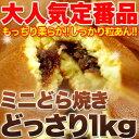 【訳あり】もっちりミニどら焼きどっさり1kg!!送料無料