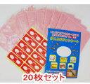 日本製 ダニよせゲットシート 20枚 レギュラーサイズ(約12×17cm) ダニ捕りマット ダニ取りシート (ダニ捕りシート)