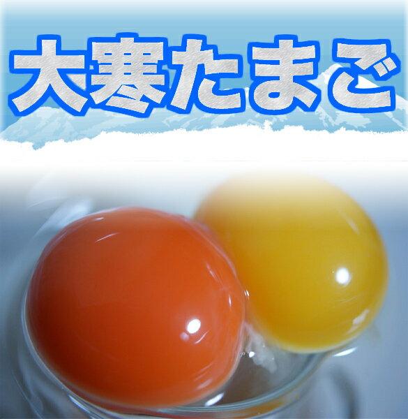 【大寒たまご】 濃厚卵・若鶏小玉食べ比べセット