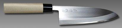 三條 辰守作 鋼付け 出刃包丁210mm吉金刃物四代目 山本和臣作