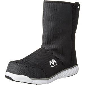 マンダムセーフティーHigh #370(黒×白)(MNDMSH370)【株式会社丸五】長靴の約半分の重さと優れたクッション性・フィット感で疲れにくい!作業靴 ブーツ型 安全スニーカー 防水 安全靴