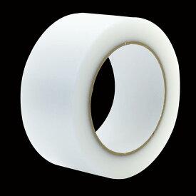 【頑張って送料無料!】窓ガラスの飛散防止テープ(色:ナチュラル/サイズ:幅5cm×長さ50m)[PDT-50]<高森コーキ>ガラスが割れても飛び散らないように。糊残りの少ない養生テープ