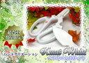 【ネコポス可能】【超限定色】ハンドクリエーションF170 フッ素樹脂プレミア色 クリスマスホワイト華道家・花屋さん御用達の花切鋏、ハンドクリエーションの限定色