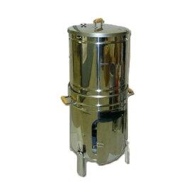 ステンレス製 温度計付大型スモーカー(燻製器) F-510スモークサーモン作るならこれがおすすめです!初心者の方もカンタンに使えます!【頑張って送料無料!】
