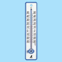 【smtb-TK】【頑張って送料無料!】ネコポスのため代引き・日時指定不可シンワ 温度計プラスチック製20cm ブルー/イエロー 48351-48352