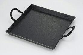 日本製卓上コンロ用プレート(35583)2mmの厚板タイプでじっくり焼き上げ31.3×24×高さ5.3cmガス火専用卓上ガスコンロで焼肉!