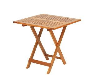 高級木材 イエローバラウ材使用ガーデンステディテーブルスクエアテーブル 70cm T-5メーカー直送の為代引き不可です【頑張って送料無料!】