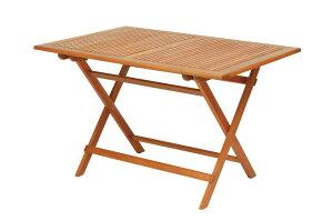 高級木材 イエローバラウ材使用ガーデンレクタングルテーブル 120cm T-7メーカー直送の為代引き不可です【頑張って送料無料!】