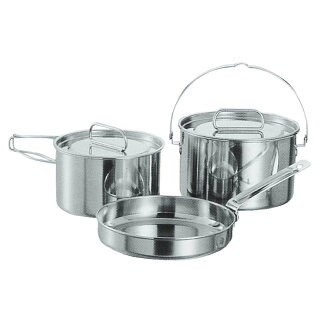 Captain stag rag eggplant tenless cooker M set M-5530